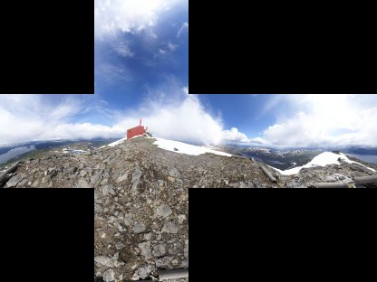 贴图素材 七套高分辨率(2048x2048)现实环境skybox(天空盒)贴图