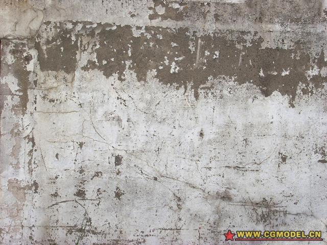 白色石灰墙