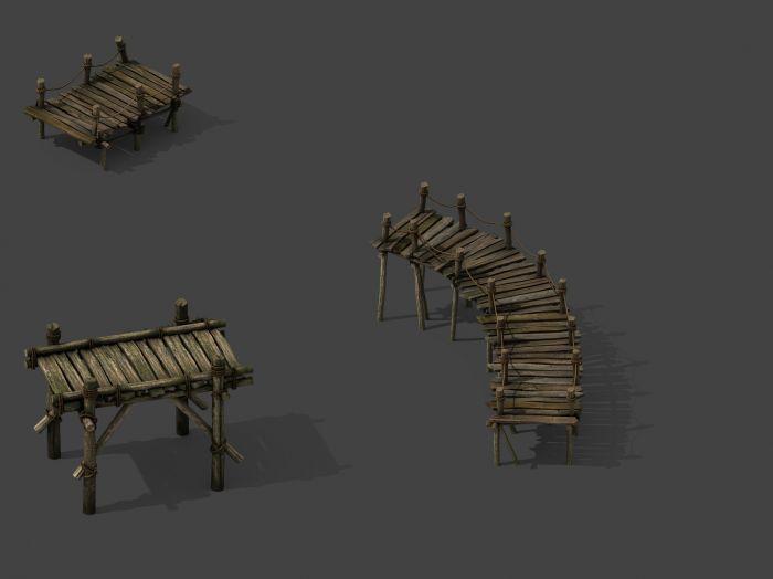 小木桥-cg模型网(cgmodel)-让设计更有价值!图片
