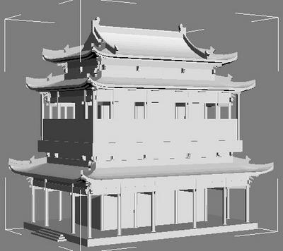 古建筑模型下载