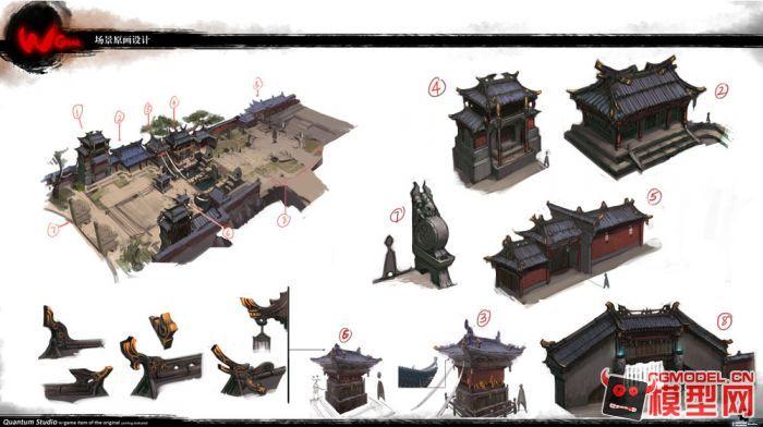【斗战神】内部限量书-角色场景原画概念设计128张大图