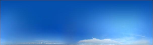 贴图素材10000分辨率超大干净真实天空3张打包甩.2048