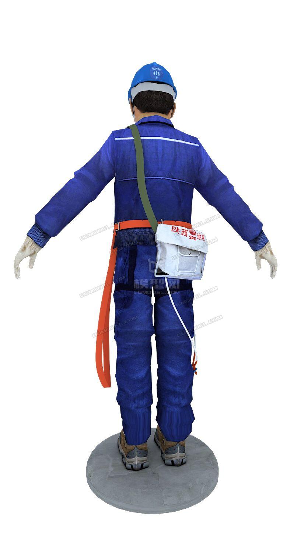max电力工人模型.图片