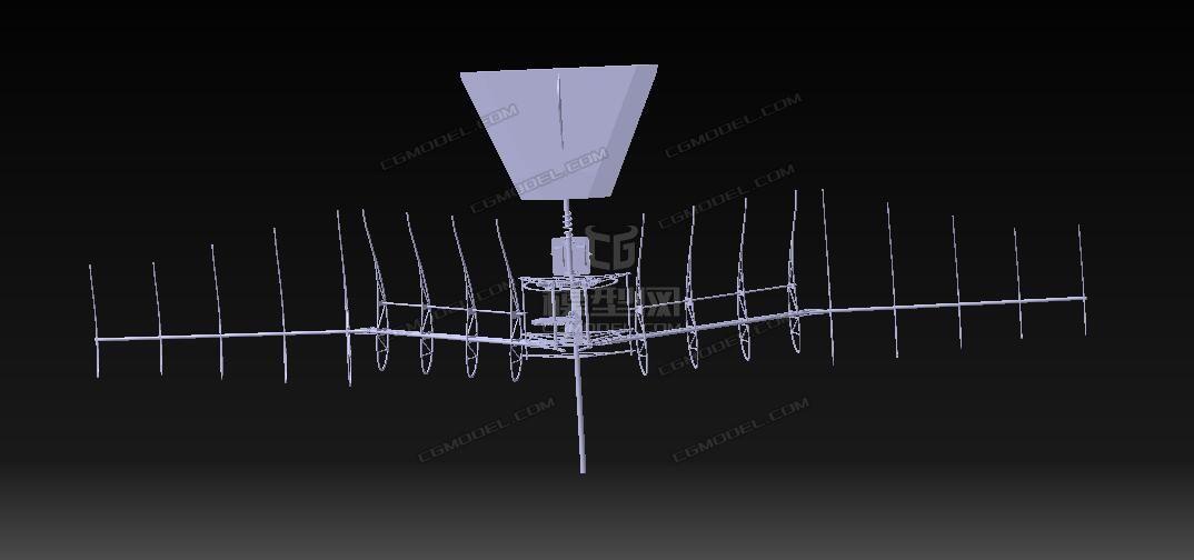 仿鸟扑翼机结构三维设计图纸(STP瓦楞)-CG模图纸不锈钢格式水箱dwg图片