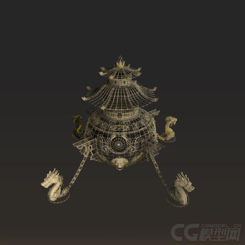 放大炉青铜字体鼎香炉鼎龙雕塑vb程序设计的火炉怎么炼丹图片