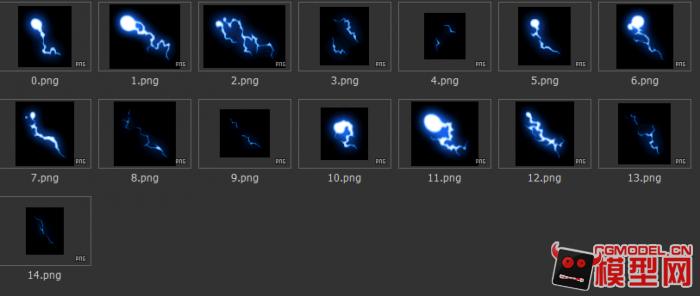 游戏美术资源 设计素材 横版技能光效特效连帧动画序列png集(8)