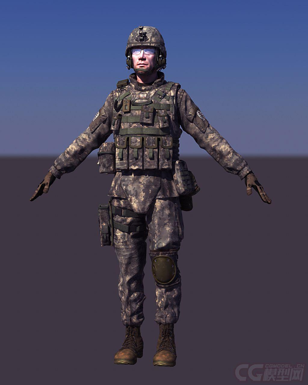 兵人模型吧_人士兵军人模型塑料小