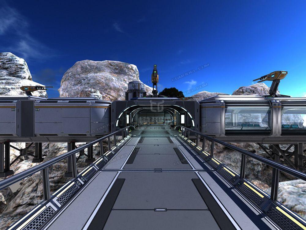 科幻次高清外星场景太空基地-操作室世代实验室太空堡垒未来意思周星驰电影粤语才懂的场景图片