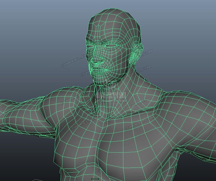 布线可直接做绑定,做表情.