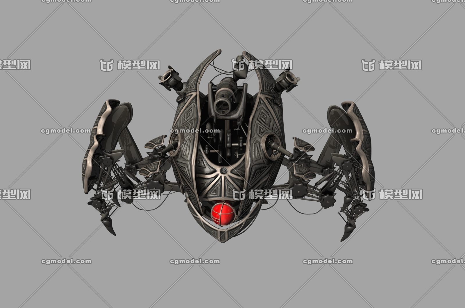 机太空飞船宇宙飞船未来科幻外星飞船战舰战机异形飞行器影视游戏模