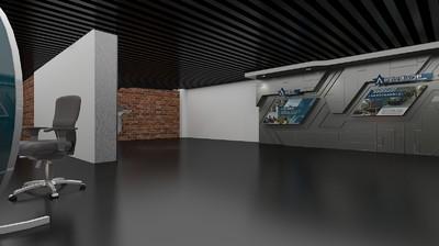 人防模型科技设计馆生成3d电气民防展厅天正展馆不了桥架体验绘制三通图片