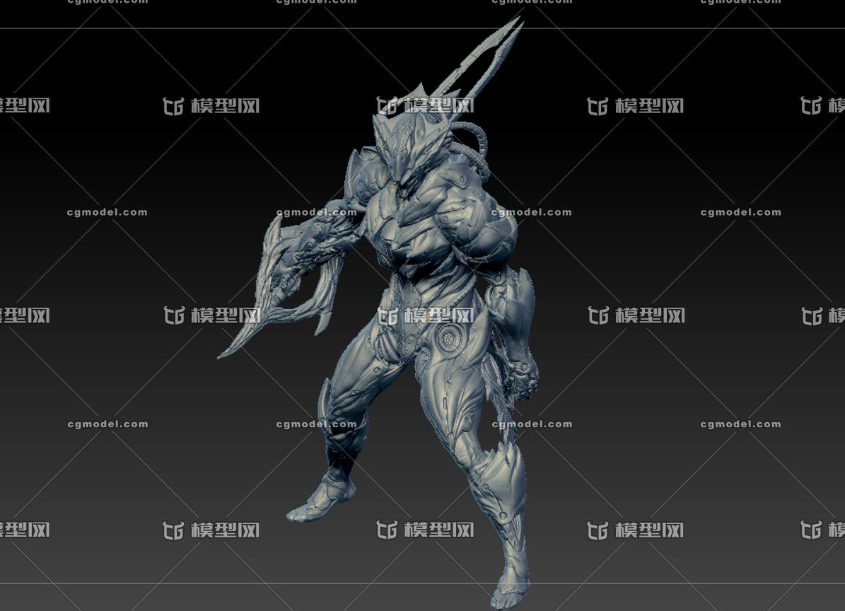 操场战甲WarframeGilgameshZBRUSH分图纸星际部件图片