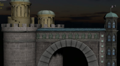 写实罗马建筑