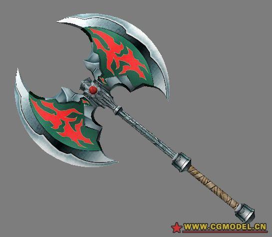 勇者战魔王 弭玛斯的双刃战斧