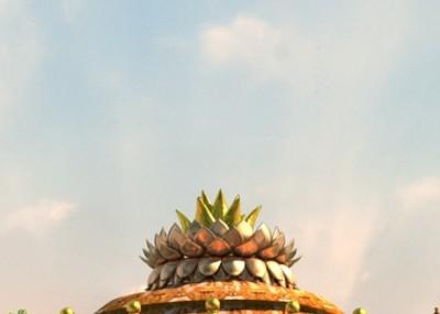 佛教莲花座模型_写实仙境宗教极乐世界场景,佛像,宗教,佛教,科幻,仙境 ...