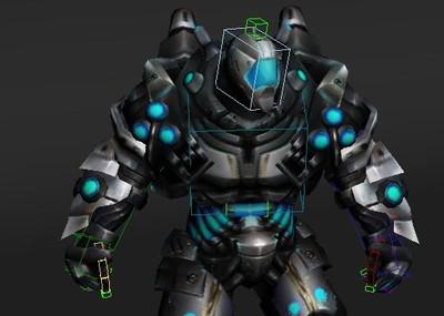 3dmax机器人模型_3dmax次世代未来科幻机器人八十八带600帧动画 -其他-人物-a1962524599 ...