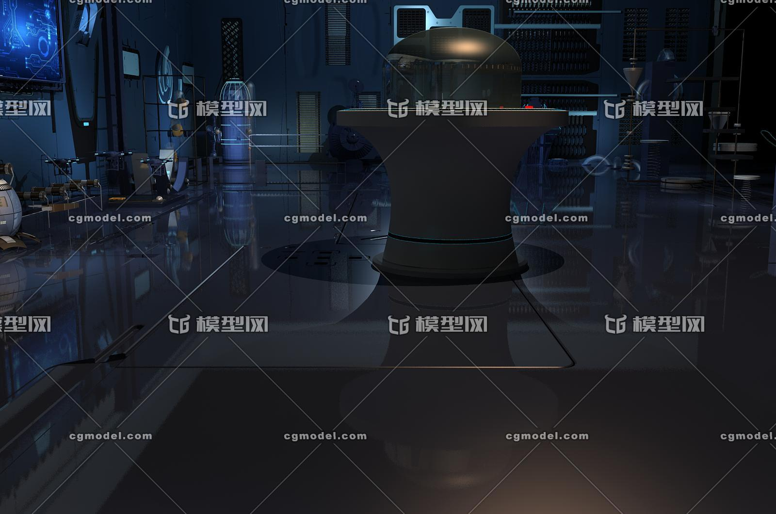qq黑客群号_科幻室内 科技室内 创意工厂 未来工厂 孵化器 机械动画 小球 ...