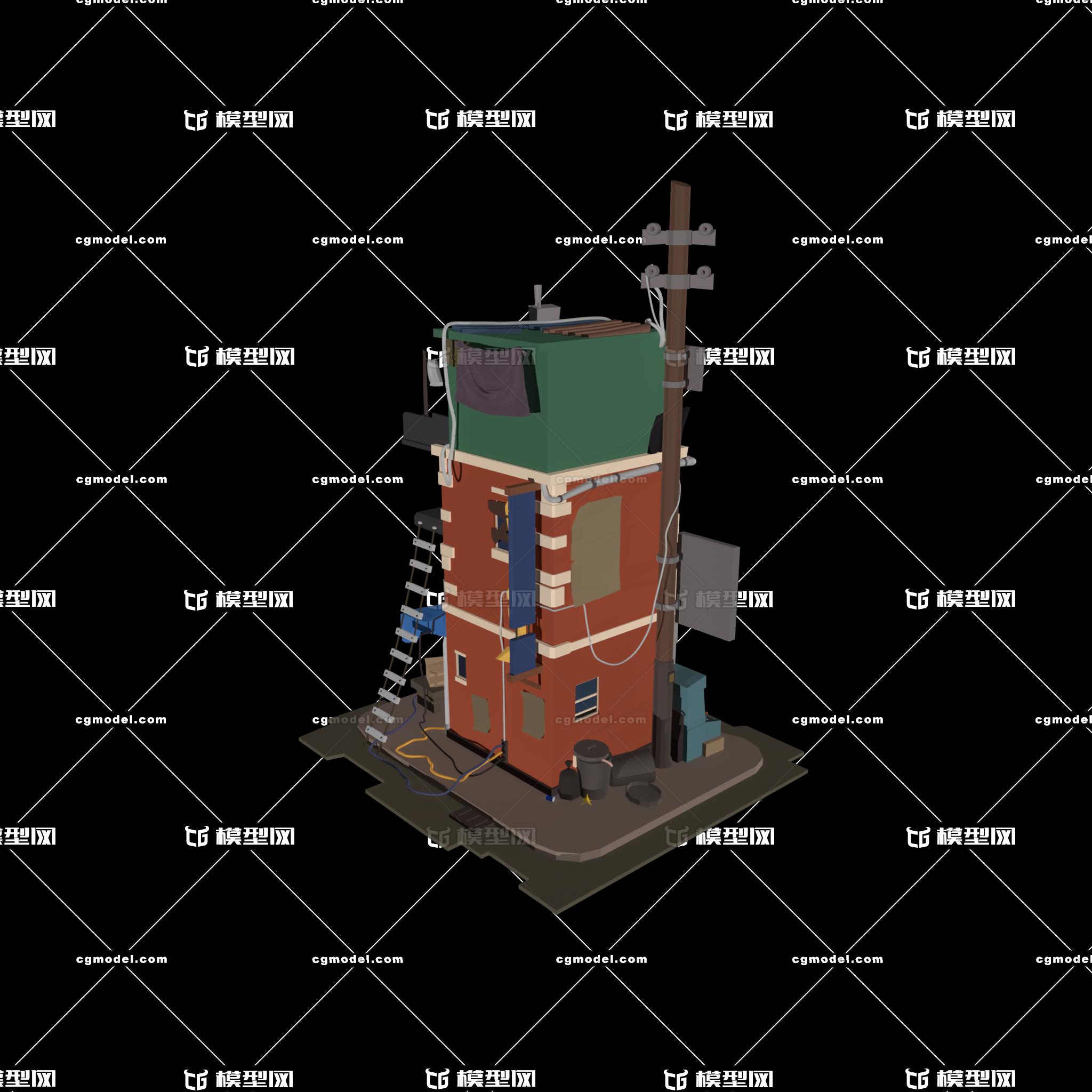 建筑模型练习